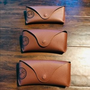 3 Rayban Sunglasses Case